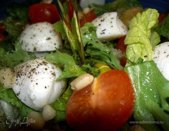 Просто салат (а-ля итальяно)
