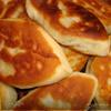 Пироги с солеными грибами