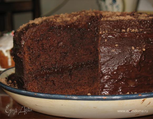 """Шоколадный торт """"Мега-коричневенькое"""""""