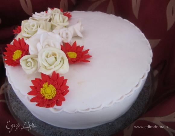 """Торт """"Для любимой мамы""""."""