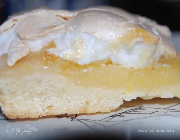 Тарт «Лимонное безумие» под безе