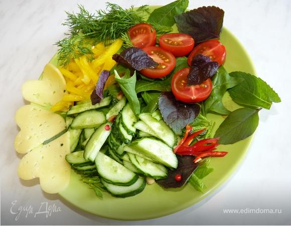 Летний салат на каждый день