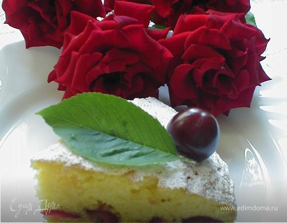 Черешневый пирог