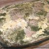 Фриттата с запеченой свининой