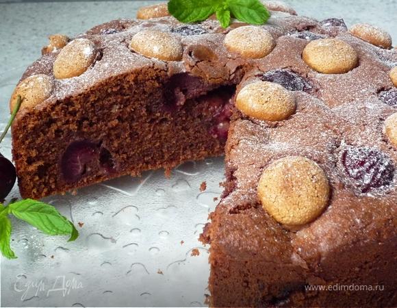 Итальянский вишневый пирог
