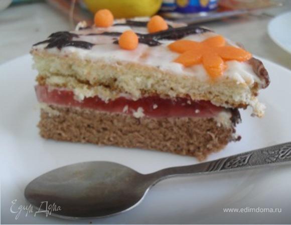 """Торт """"3 цвета"""""""