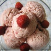 Клубнично-банановое мороженое