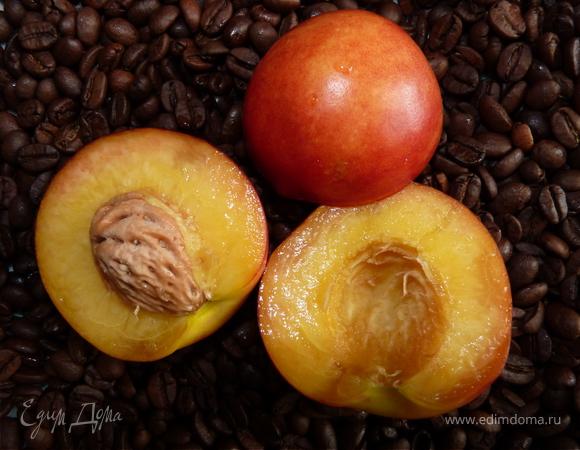 Варенье из нектаринов с кофе