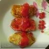 Ньокки из манки с соусом из смородины