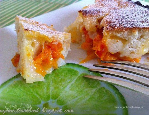 Easy Apricot Cobbler