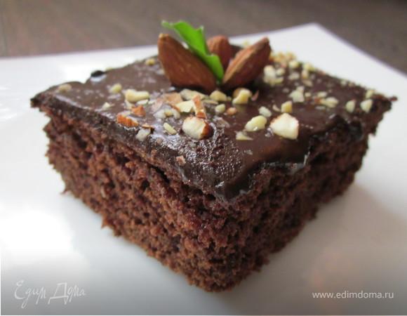 "Шоколадный пирог с цукини ""Три шоколада"""