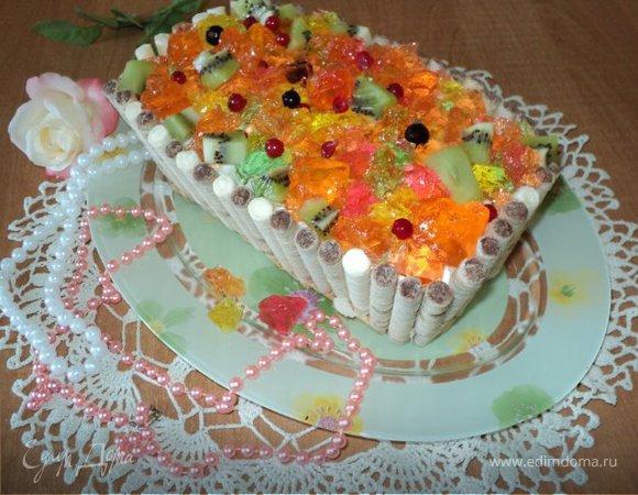 Торт «Шкатулка с сокровищами»