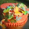 """Торт """"Ромашки и бабочки"""""""