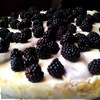 Ежевичный торт с маскарпоне