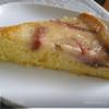 Манный пирог с грушами.