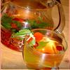 Зеленый чай с клюквой и мелиссой