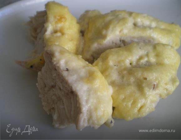 Куриное филе под сыром.