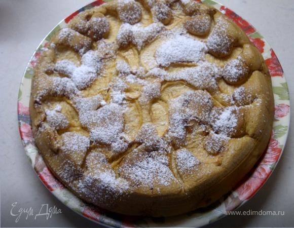 Шарлотка или любимый яблочный пирог моих мужчин))