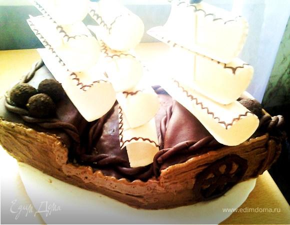 "Торт ""Кораблик Артурчика"""