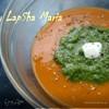 Чечевичный крем-суп с брокколи и шпинатом
