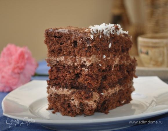 """Шоколадный торт """"Маркиз"""""""