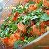 Свинина тушенная с томатами и зеленью