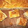 Бакский пирог с заварным кремом и миндалем