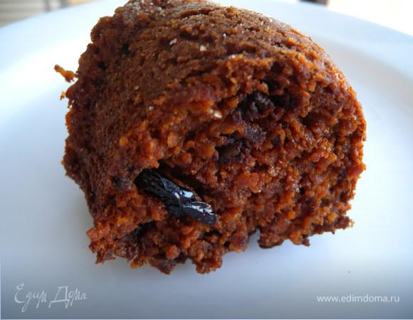 Пирог на хлопьях Нордик с сушеной сливой и грушей