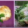 Шляпки из телятины и цветной капусты