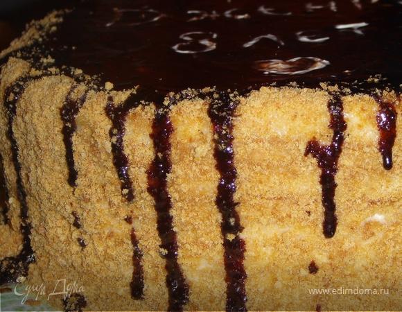 Нежный и вкусный торт с ароматом айвы