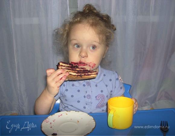 Teskoma.Простой,но в тоже время вкусный пирог с Новогодней ноткой!!!