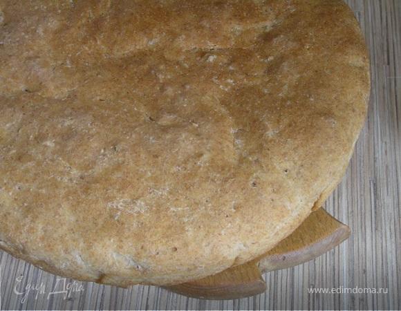 Ржано-пшеничный хлеб на хмелевой закваске