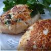 Зразы рыбные с яично-грибной начинкой.