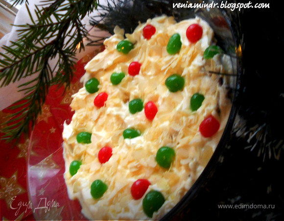 Christmas Trifle - британский десерт