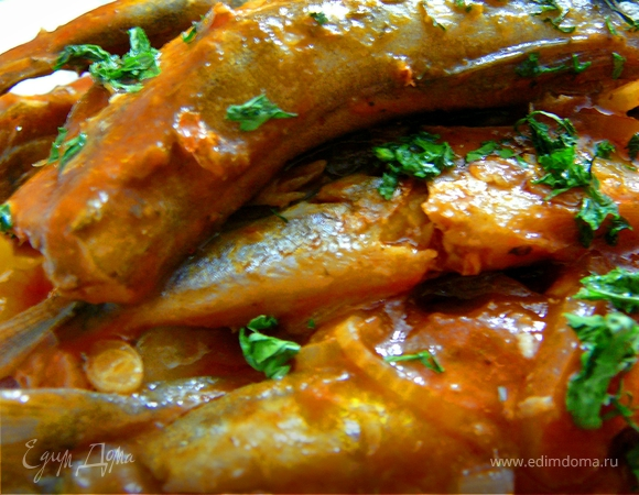 Рыбки в томатном соусе