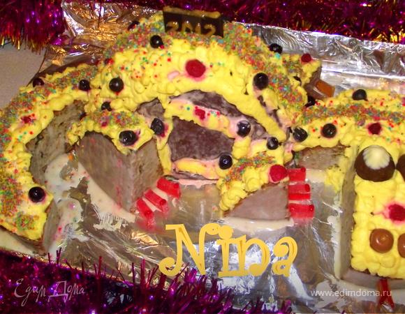 """Торт """"Дракоша 2012"""""""