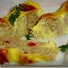 Пирог из лаваша с мясом, сыром, помидорами -черри для Юлии
