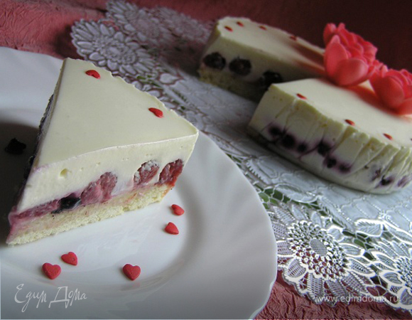 Торт Белый танец