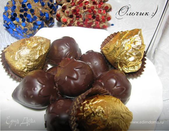 """Конфеты """"Клубника в шоколаде"""" для спецагента)"""