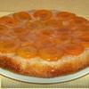 Пирог с кукурузной мукой и абрикосами