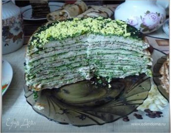Начинаем готовиться к Масленице! (Блинный торт, блины с мясом, сладкие блины)