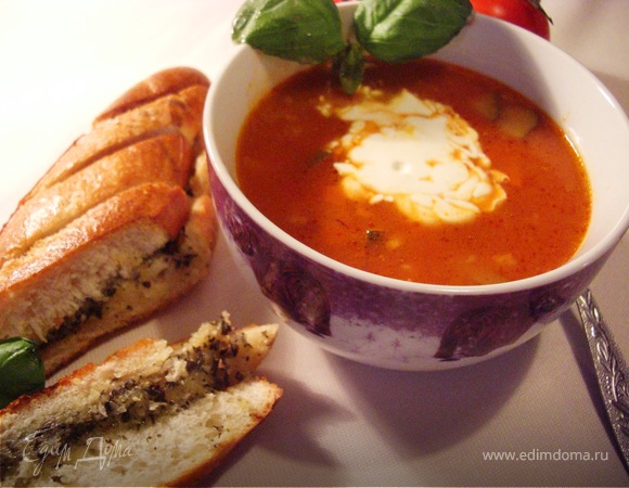 Зимний помидорный суп