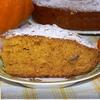 Тыквенный кекс с апельсином и финиками