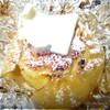 Яблоки с творогом и изюмом