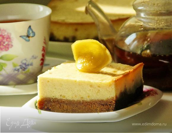 Творожно-имбирный кейк