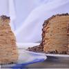 Блинный торт « Бананы – кокосы»