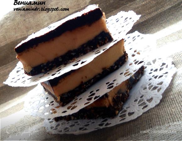 Cappuccino Nanaimo bars - канадский шоколадный десерт