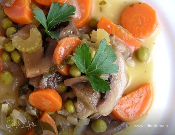 Овощное рагу с грибами по-ирландски
