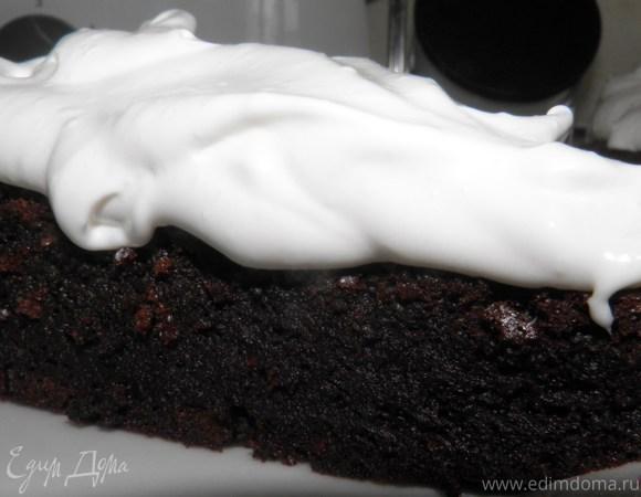 Шоколадный торт для мужа)