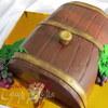 "Торт ""Бочка"" два варианта"
